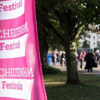 Cheltenham Festival Flag
