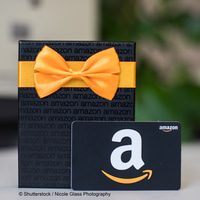 Amazon gift card and present