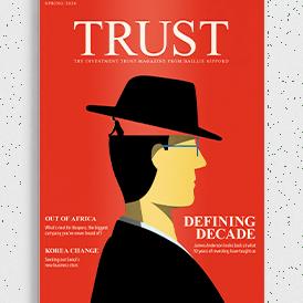 Trust 40 Magazine Cover