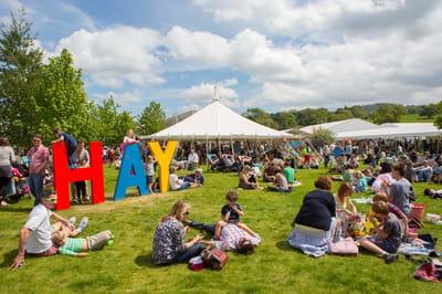 Hay Festival Tent