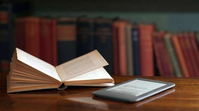 Open Book and eReader